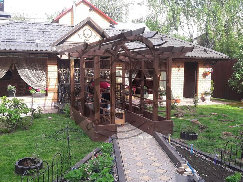 Арка из дерева купить в Дмитрове
