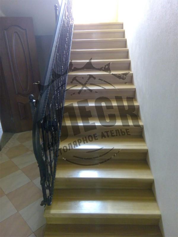 Деревянные лестницы в Дмитрове