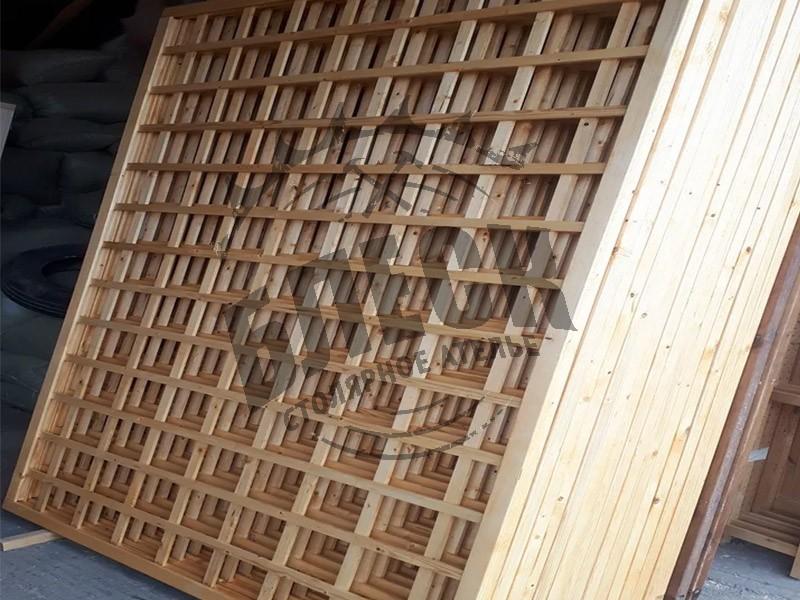Шпалеры из дерева в Дмитрове