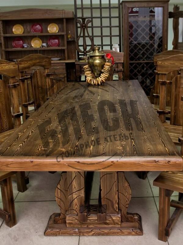 Деревянный стол на заказ в Дмитрове